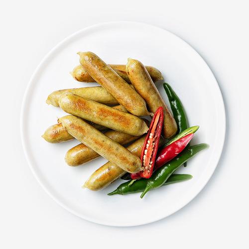 [무료배송] [파워닭] 닭가슴살 수제 소시지 고추맛 100팩