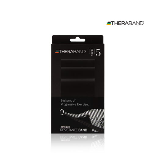 [무료배송] [나음케어] 세라밴드 2M 블랙 레벨 5