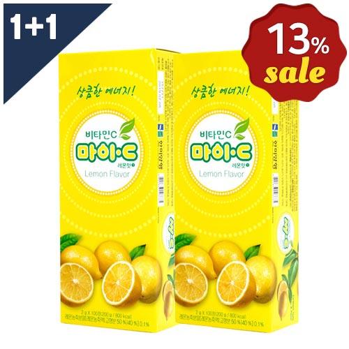 [무료배송 13% 할인 1+1 패키지]마이C레몬맛 100정 + 마이C레몬맛 100정